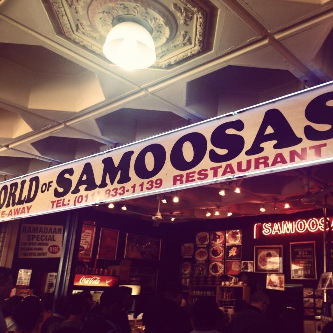 World of Samoosas, Oriental Plaza