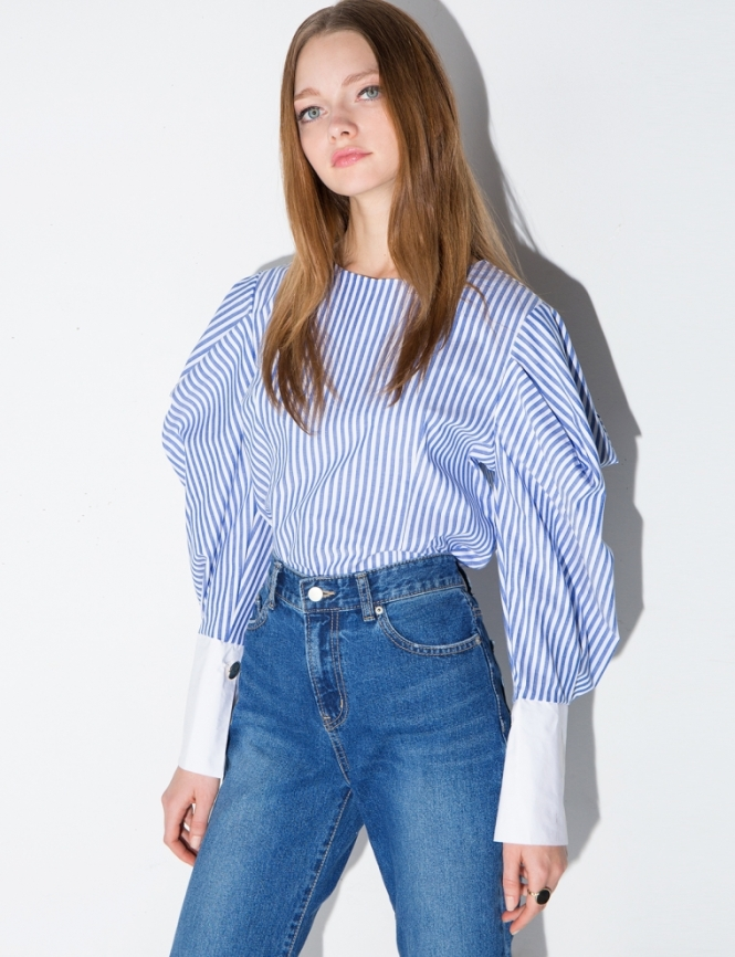 Pixie Market balloon sleeve shirt