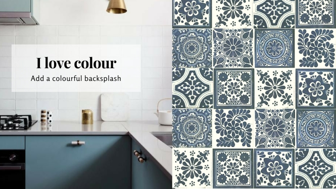 Mexican tiles, kithen backsplash