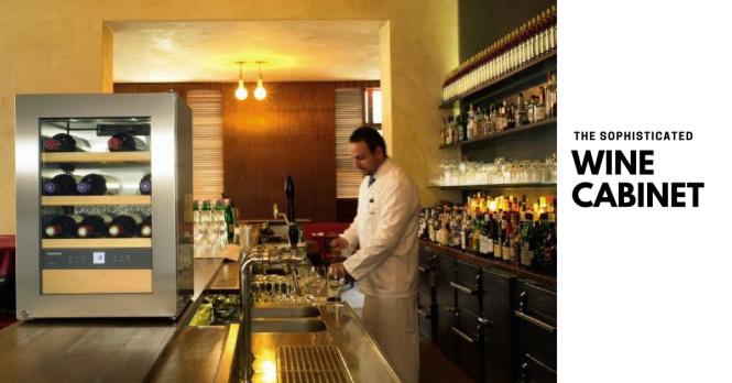 Liebherr wine cabinet